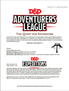 DDEX3-11 The Quest for Sporedome (5e)