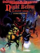 Night Below: An Underdark Campaign (2e)