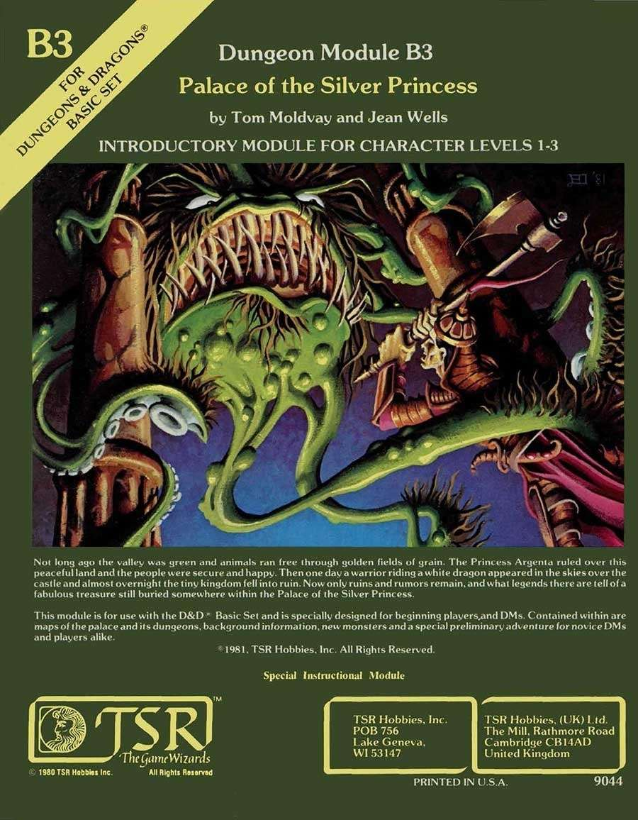 B3 Palace of the Silver Princess (Basic) on RPGNow.com