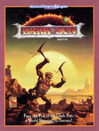 Dark Sun Boxed Set (2e)