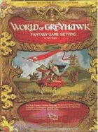 World of Greyhawk Fantasy Game Setting (1e)