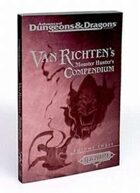 Van Richten's Monster Hunter's Compendium, Vol 3 (2e)
