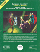 S1 Tomb of Horrors (1e)