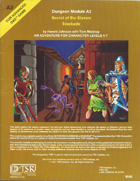 A2 Secret of the Slavers Stockade (1e)