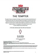 DDAL04-09 The Tempter (5e)