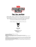 DDAL07-10 Fire, Ash, and Ruin (5e)