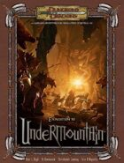 Expedition to Undermountain (3.5)