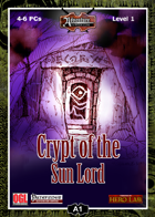 A01: Crypt of the Sun Lord