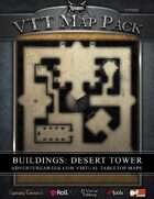 VTT MAP PACK: Buildings Desert Tower