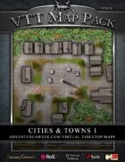 VTT MAP PACK: Cities & Towns 1