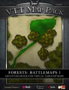 VTT MAP PACK: Forests Battlemaps 1