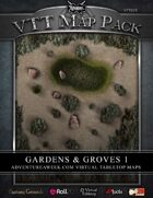 VTT MAP PACK: Gardens & Groves 1