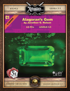 (5E) C01: Alagoran's Gem (Fantasy Grounds)