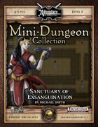 Mini-Dungeon #026: Sanctuary of Exsanguination (Fantasy Grounds)