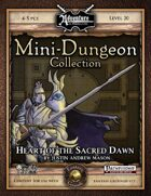 Mini-Dungeon #029: Heart of the Sacred Dawn (Fantasy Grounds)