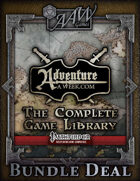 THE COMPLETE GAME LIBRARY (PFRPG) [BUNDLE]