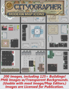 Cityographer Modern City Map Icons (Any Editor)