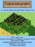 1e (Early 80's) World Style Map Icons