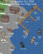 Cityographer High Seas City Map Icons (Any Editor)