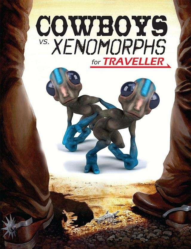Traveller: Cowboys vs. Xenomorphs on DriveThruRPG.com