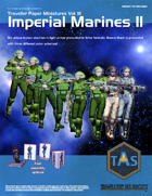 Traveller Paper Miniatures Vol. 3 Imperial Marines II
