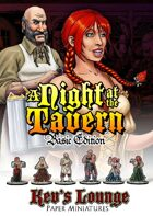 Kev's Lounge Paper Minis: A Night At The Tavern (Basic Edition)