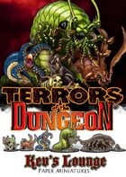 Kev's Lounge Paper Minis: Terrors of the Dungeon