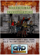 DEADLY MISSIONS Expansion Seven: PARANORMAL INVESTIGATORS