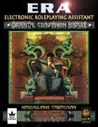 ERA for Rolemaster RMC Oriental Companion