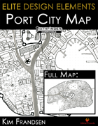 Elite Design Elements: Coldwharf Port City Map
