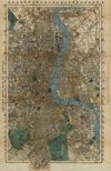 Antique Maps XX - London of the 1800's
