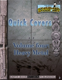 Quick Covers- Vol.4: Heavy Metal on RPGNow.com