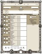 Form-fillable Character Sheet - ZWEIHÄNDER Grim and Perilous RPG