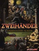 Gamemaster's Screen - ZWEIHÄNDER Grim and Perilous RPG