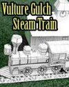 Vulture Gulch Express Steam Train construction set (B&W)