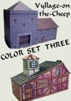 Vyllage-on-the-Cheep COLOR Buildings Set #3