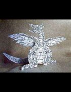 FREE! The Dragon cardstock 3D figure kit