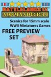 BattleLands 15mm Normandy:1944 FREE PREVIEW SET