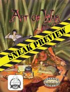 Art of War: Sneak Preview