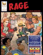 RAGE - A PL8 Mutants and Masterminds Adventure for 4-6 players, set in the world of Our Super Mom.