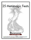 25 Metamagic Feats [PFRPG]