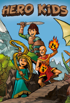 Hero Kids - Fantasy Supplement - Hero Cards - Danish