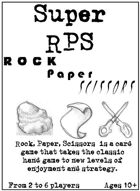 Super RPS - Rock • Paper • Scissors