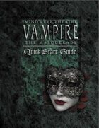 Mind\'s Eye Theatre: Vampire The Masquerade Quickstart Guide