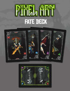 Pixel Art Fate Deck