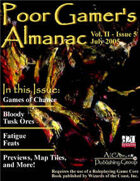 Poor Gamer's Almanac (July 2005)