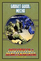 Mutants & Masterminds Gadget Guide: Mecha