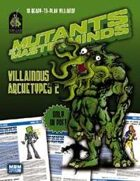 Mutants & Masterminds Villainous Archetypes 2