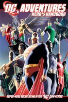 DC Adventures Hero's Handbook Cover
