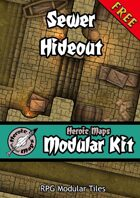 Heroic Maps - Modular Kit: Sewer Hideout